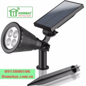 Đèn chiếu rọi năng lượng mặt trời PL24 tại Homebay
