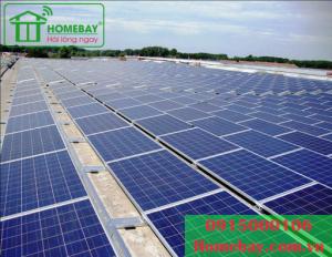 Hệ thống điện mặt trời hòa lưới 5,04 KWp tại Homebay