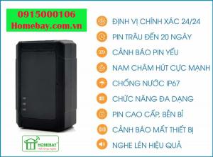 Thiết bị định vị không dây sạc pin VT03D tại Homebay