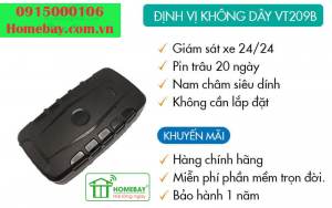Thiết bị định vị không dây VT209B tại Homebay