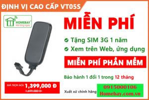 Thiết bị định vị GPS Protrack VT05S tại Homebay