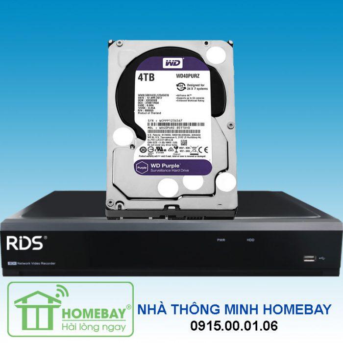 Đầu ghi camera RDS NVR40161