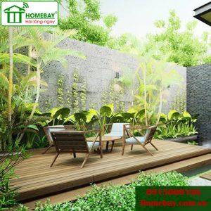 Sân vườn nhà thông minh tại Homebay bí quyết chăm sóc cảnh quan tự động