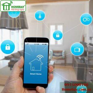 Thiết bị điều khiển nhà thông minh tại Homebay