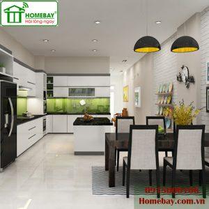 Bữa cơm gia đình thêm trọn vẹn với phòng ăn nhà thông minh tại Homebay